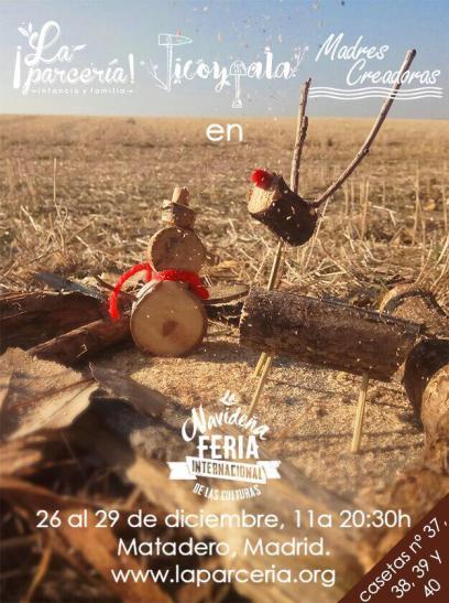 29 de diciembre 18.00 a 20.00 taller de móviles y brujitas del bosque